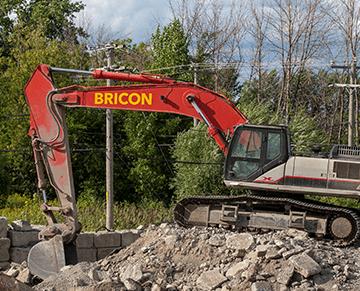 Bricon | Services de démolition